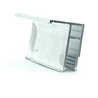 Профиль алюминиевый для натяжных потолков — Универсальный. Длина профиля 2,5 м.