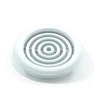 Круглая вентиляционная решетка для натяжных потолков — 45 мм
